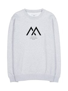 Makia - Seafarer Light Sweatshirt -collegepaita - 910 LIGHT GREY | Stockmann