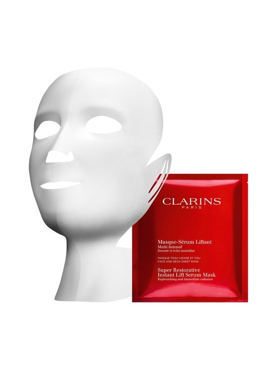 Clarins - Super Restorative Instant Lift Serum Mask -naamio 5 kpl - null   Stockmann - photo 1