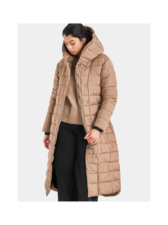 Didriksons - Stella Long Padded -toppatakki - 443 CAMEL | Stockmann - photo 8