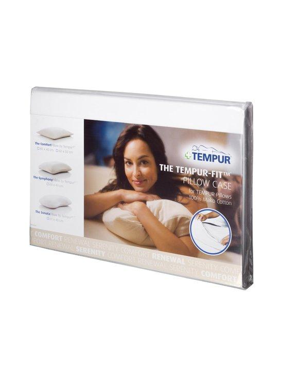 Tempur - TEMPUR FIT EasyClean/Breeze -tyynyliina 50 x 60 cm - VALKOINEN   Stockmann - photo 1