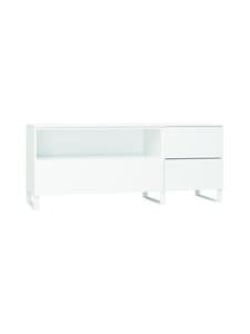 Lundia - Fuuga-tv-taso 48 x 60 x 144 cm - WHITE PAINTED MDF/WHITE METAL | Stockmann