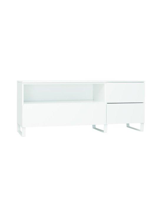 Lundia - Fuuga-tv-taso 48 x 60 x 144 cm - WHITE PAINTED MDF/WHITE METAL | Stockmann - photo 1