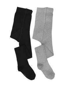 Ewers - Sukkahousut 2-pack - BLACK / GREY (MUSTA / HARMAA) | Stockmann