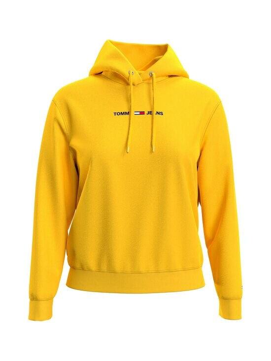 Tommy Jeans - TJW Linear Logo Hoodie -huppari - ZGQ STAR FRUIT YELLOW   Stockmann - photo 3
