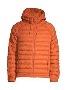 Knowledge Cotton Apparel - Eco Active Thermore Hood Jacket -toppatakki - 1308 RUST | Stockmann