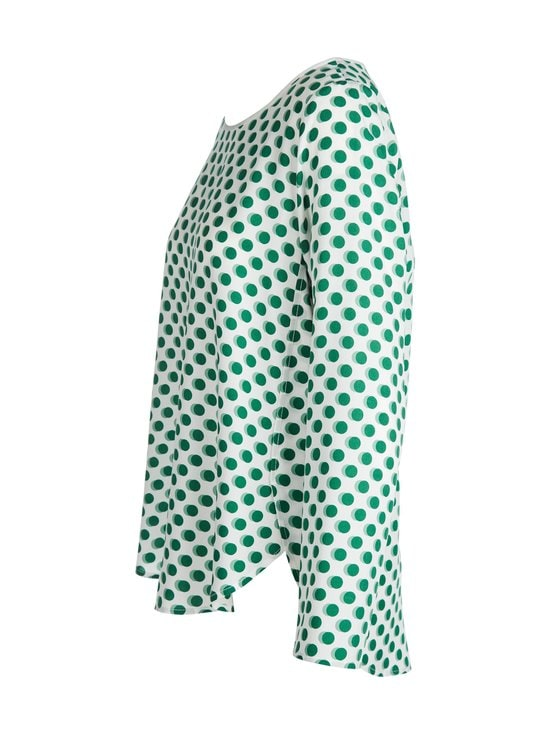 Marc O'Polo - Pusero - D11 OFF WHITE WITH GREEN SPOTS | Stockmann - photo 3