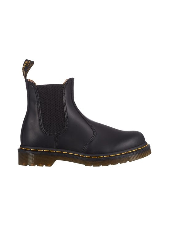 Dr. Martens - 2976 Yellow Stich Chelsea Boot -nahkanilkkurit - BLACK   Stockmann - photo 1