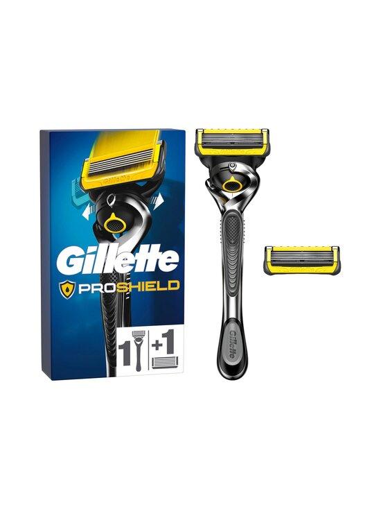 Gillette - Proshield handle + 2 blades -partahöylä + 2 terää - NOCOL   Stockmann - photo 1