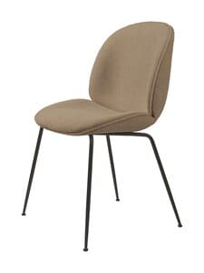 Gubi - Beetle-tuoli - LIGHT BOUCLÉ 003/BLACK MATT | Stockmann