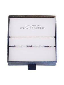 Pernille Corydon - Dream Bracelet Box -rannekoru 2 kpl - SILVER | Stockmann