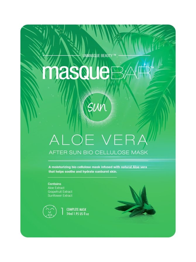 Aloe After Sun Bio Cellulose Sheet Mask -kasvonaamio 54 ml