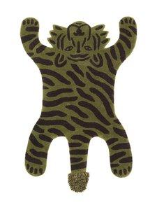 Ferm Living - Safari Tufted Tiger -villamatto - GREEN | Stockmann