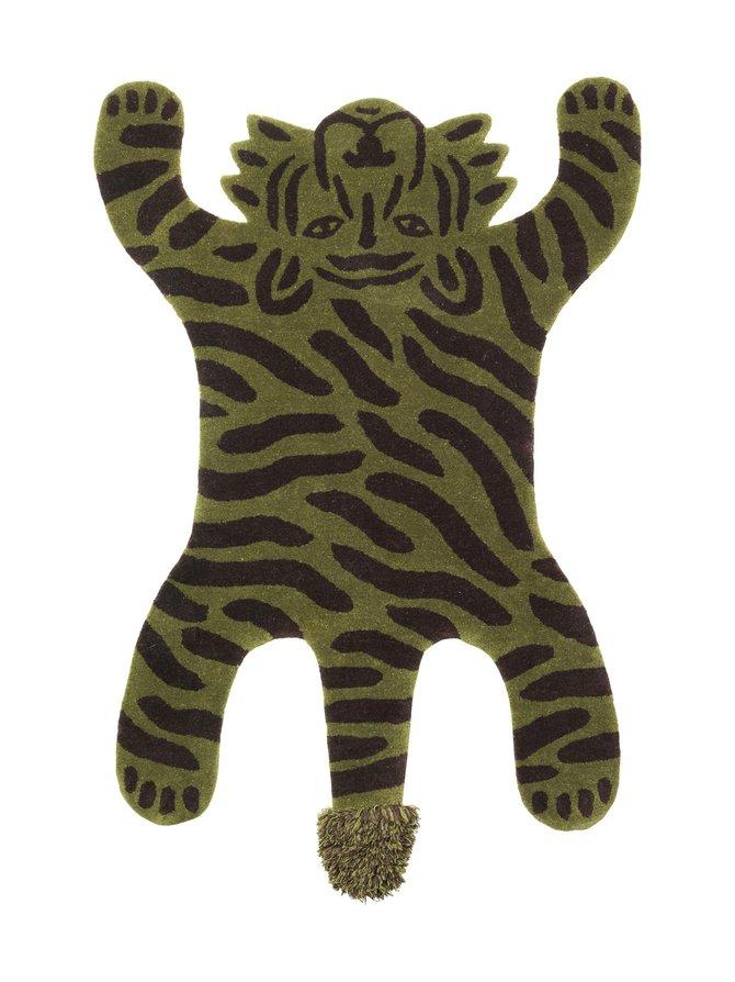 Safari Tufted Tiger -villamatto