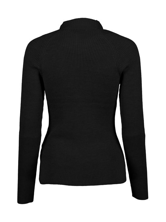 cut & pret - Amabelle-merinoneule - BLACK | Stockmann - photo 2