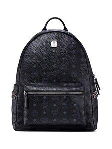 MCM - Stark Side Studs Backpack in Visetos -reppu - BK BLACK | Stockmann