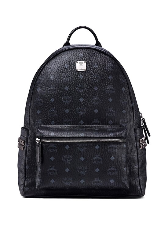 MCM - Stark Side Studs Backpack in Visetos -reppu - BK BLACK   Stockmann - photo 1