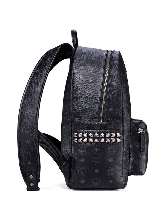 MCM - Stark Side Studs Backpack in Visetos -reppu - BK BLACK   Stockmann - photo 3