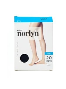 Norlyn - Basic City 20 den -sukkahousut - BLACK (MUSTA) | Stockmann