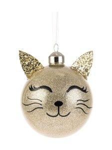 Weiste - Kissa-joulupallo - GOLD   Stockmann