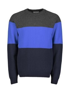 Makia - Block Knit -merinovillaneule - 649 BRIGHT BLUE | Stockmann