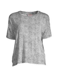 NOOM loungewear - Uliana jersey -paita - WHITE/NAVY COMBO   Stockmann