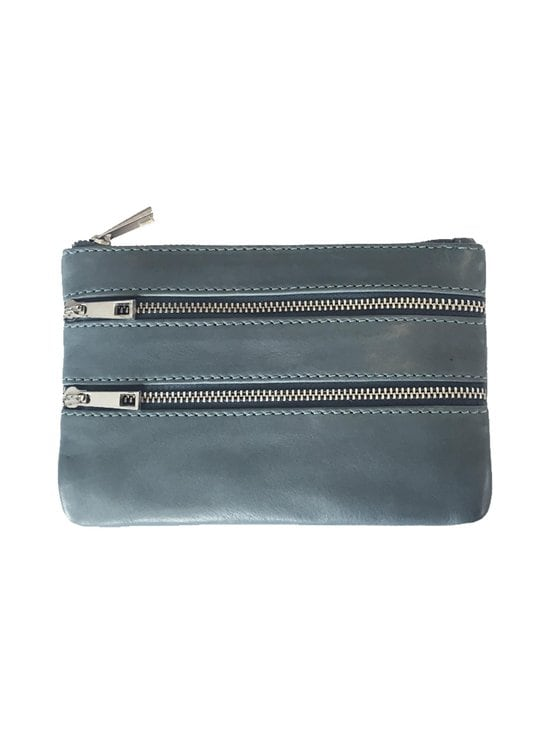 Becksöndergaard - Veg Sally Pouch -nahkalaukku - DUSTY BLUE | Stockmann - photo 1