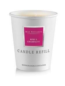 Max Benjamin - Rose Champagne -tuoksukynttilän täyttöpakkaus 190 g - PINK | Stockmann