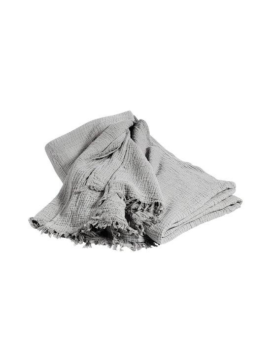 HAY - Crinkle-päiväpeite 270 x 270 cm - VAALEANHARMAA | Stockmann - photo 1