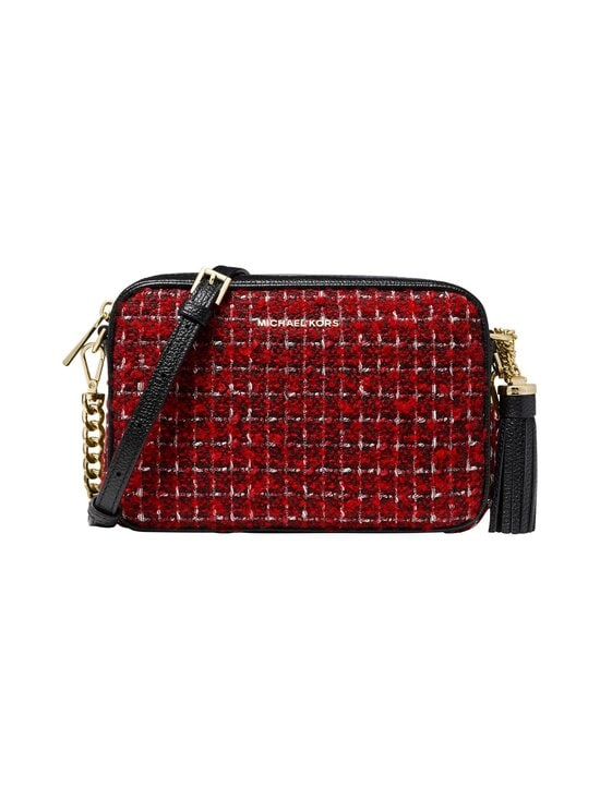 Michael Michael Kors - Jet Set Medium Camera Bag -laukku - 683 BRIGHT RED | Stockmann - photo 1