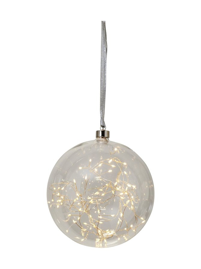 Hanging Glass Bauble Glow -valosarja 20 x 20 x 21 cm