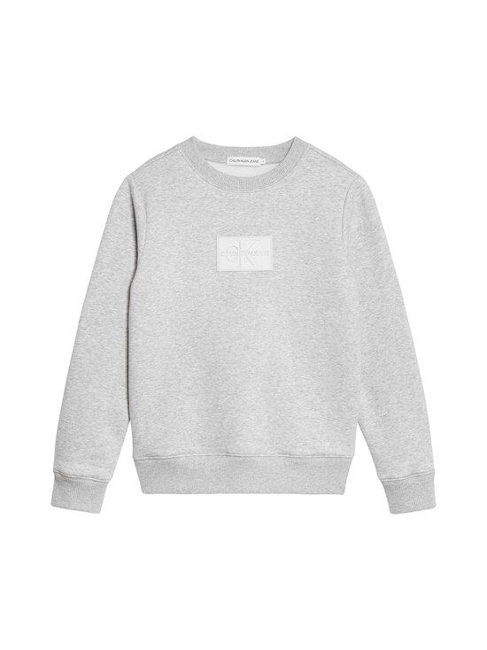 Calvin Klein Kids - Reflective CK Badge Sweatshirt -collegepaita - PZ2 LIGHT GREY HEATHER | Stockmann - photo 1