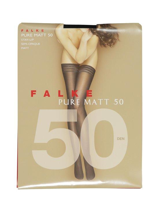 Falke - Pure Matt -stay-up-sukat 50 den - BLACK (MUSTA) | Stockmann - photo 1