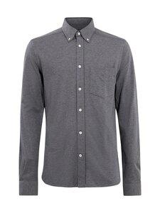 J.Lindeberg - Jersey Structure Slim Shirt -paita - 6642 DARK GREY | Stockmann