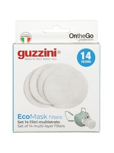 Guzzini - On The Go Protection Multilayer Filters -kasvomaskin suodatin 14 kpl - null | Stockmann