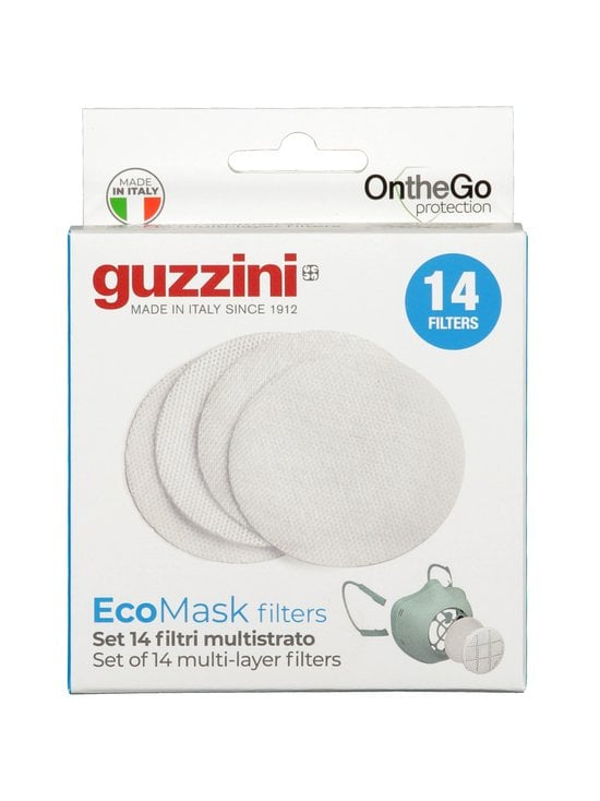 Guzzini - On The Go Protection Multilayer Filters -kasvomaskin suodatin 14 kpl - WHITE | Stockmann - photo 1