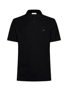 Calvin Klein Menswear - Logo Refined Pique Slim Polo -pikeepaita - 013 PERFECT BLACK | Stockmann