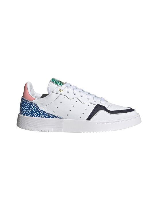 adidas Originals - W Supercourt -nahkasneakerit - CLOUD WHITE/LEGEND INK/GLOW PINK | Stockmann - photo 1