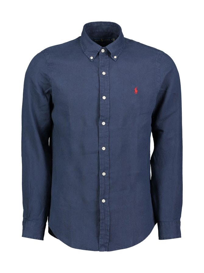 Sport Shirt Slim Fit -pellavapaita