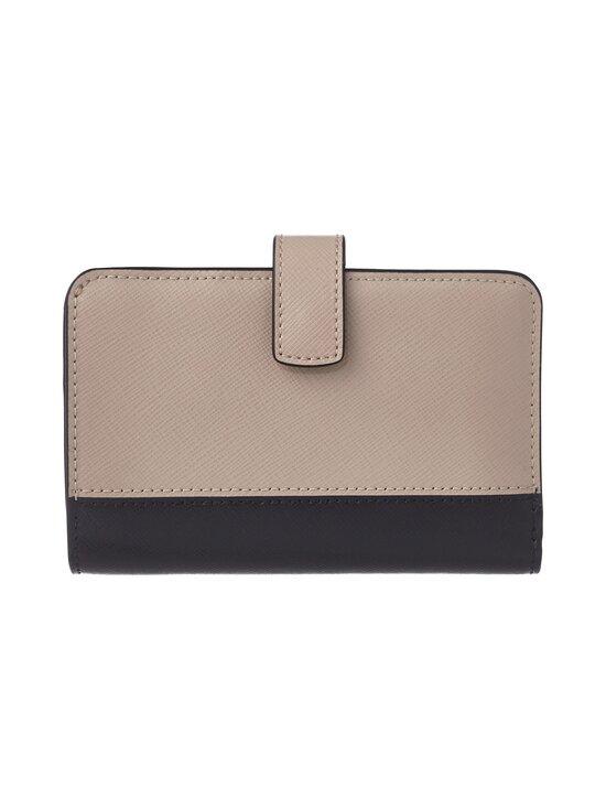 kate spade new york - Spencer Compact Wallet -nahkalompakko - WARM BEIGE/BLACK   Stockmann - photo 2