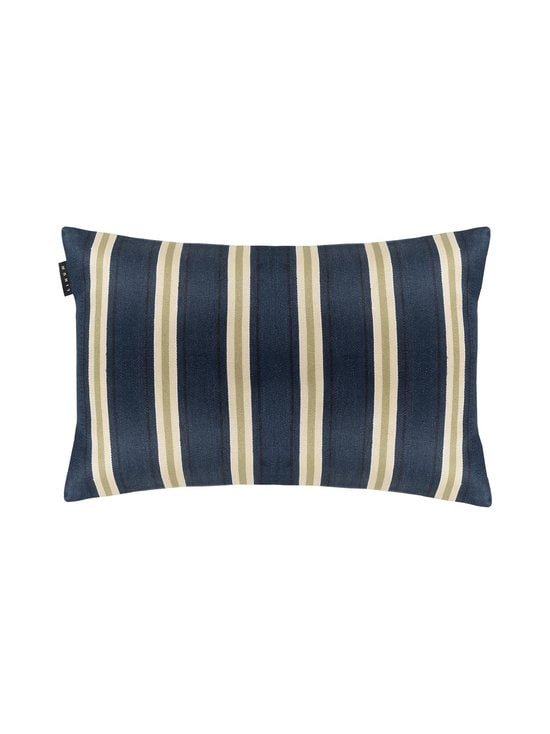 Linum - Lucca-tyynynpäällinen 40 x 60 cm - DARK GREY BLUE | Stockmann - photo 1