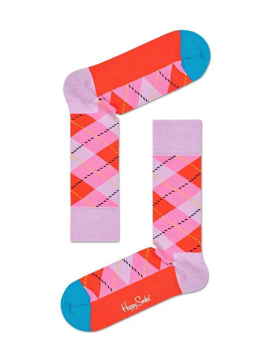 Happy Socks - Argyle-sukat - 3300 PINK | Stockmann - photo 1