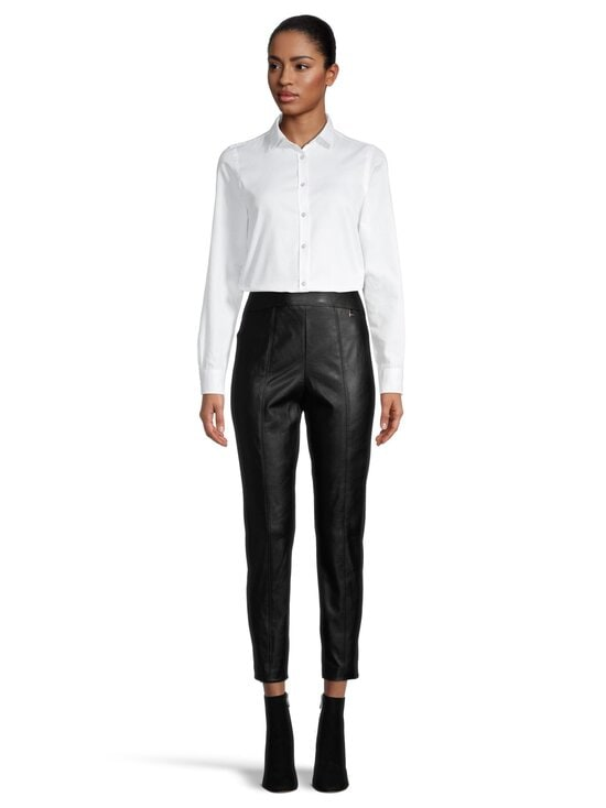 Ted Baker London - Vllada Faux Leather Legging Trousers -housut - 00 BLACK | Stockmann - photo 2
