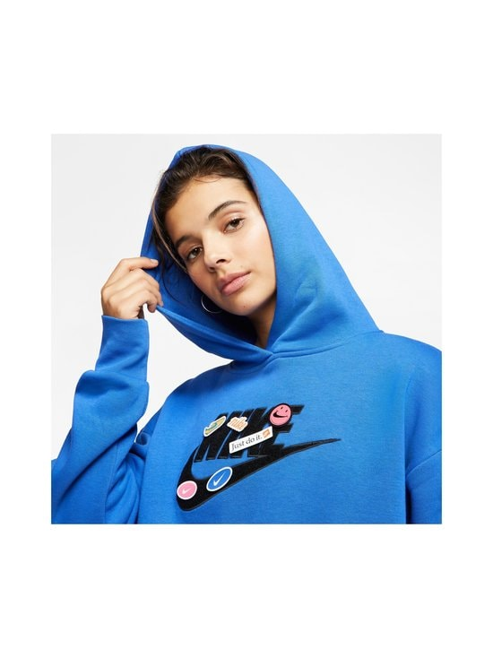 Nike - Icon Clash Fleece Hoodie -huppari - 480 GAME ROYAL | Stockmann - photo 5