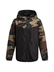 JACK & JONES junior - JjVibes Light Jacket -takki - BLACK DETAIL:CAMO BLOCKING | Stockmann