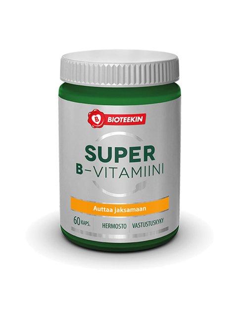 Super-B -vitamiinivalmiste 60 kaps. / 40 g