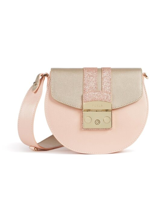 Furla - Metropolis Mini Crossbody Round -nahkalaukku - 0009S COLOR PLATINO+CANDY ROSE+COLOR | Stockmann - photo 1