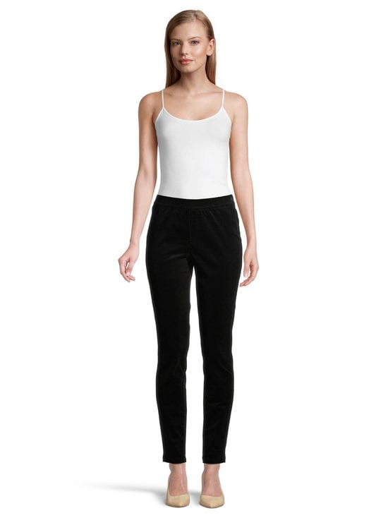 NOOM - Rhea-vakosamettileggingsit - BLACK | Stockmann - photo 2