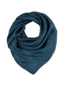 A+more - Seila-silkkihuivi - BLACK/BLUE 2 | Stockmann