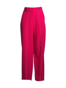 NA-KD - Seam Detail Suit Pants NA-KD Bright Pink 34 - BRIGHT PINK | Stockmann