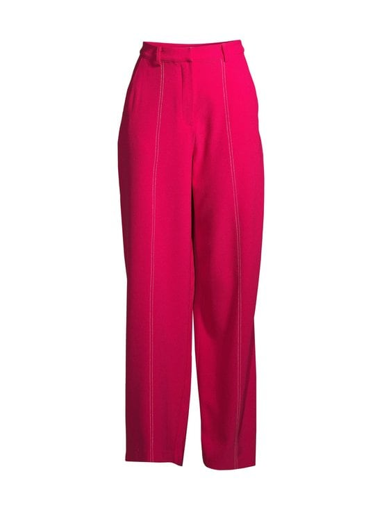Seam Detail Suit Pants NA-KD Bright Pink 34